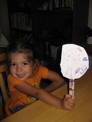 Popstick Puppet