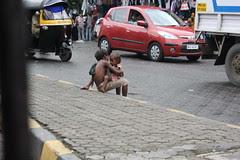 The street beggar kids run if you shout Dhoble Ala Re Ala by firoze shakir photographerno1