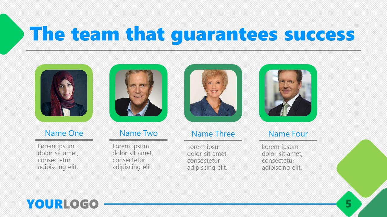Business Plan PPT Template Slide5