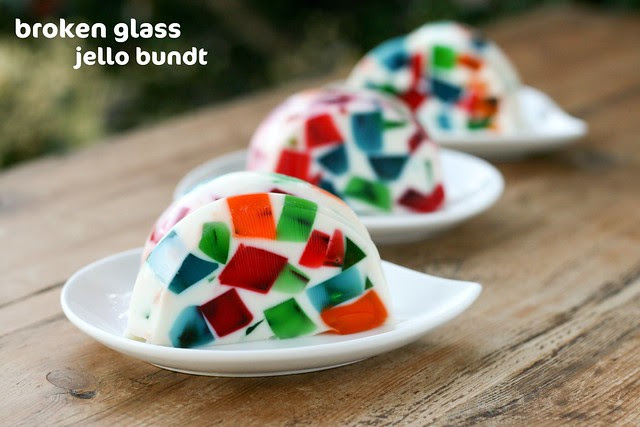 Broken Glass Jello Bundt - I Like Big Bundts 2011
