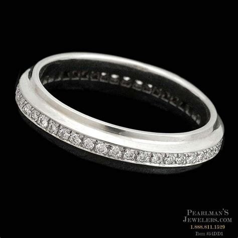 Michael Bondanza's Platinum pave Dakota diamond eternity w..
