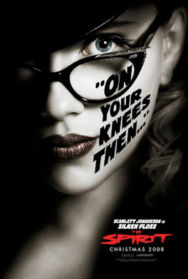 The Spirit Character Movie Posters - Scarlett Johansson is Silken Floss