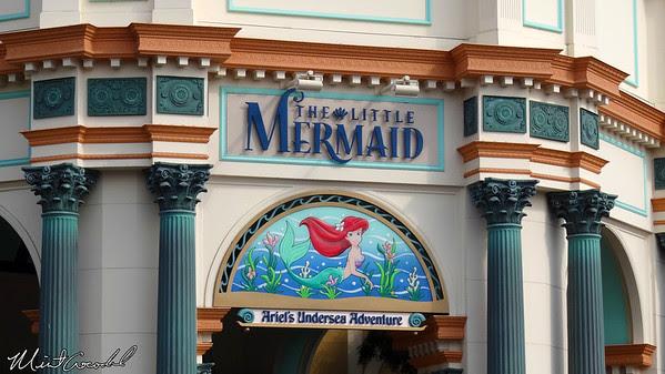 Disneyland Resort, Disney California Adventure, Paradise Pier, Little Mermaid