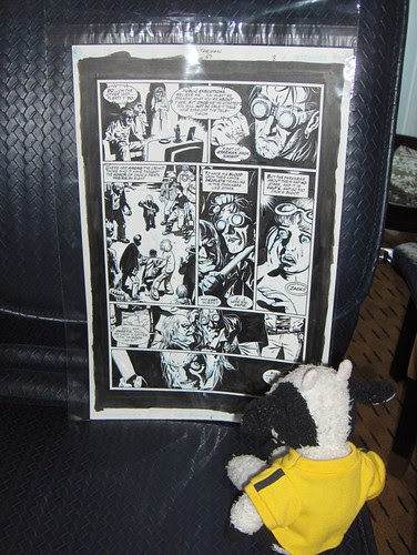 """I bought a piece of """"Starman"""" original art by Peter Snejberg"""