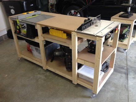 Buy Mobile Table Saw Router Table Plans