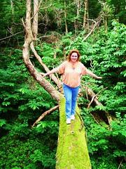 Me crossing the Tree of Despair