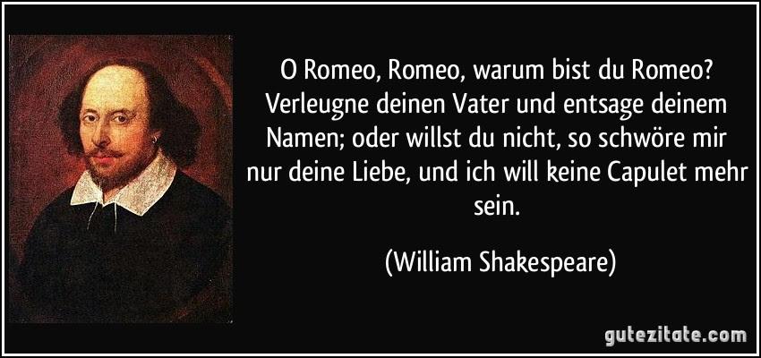 William Shakespeare Romeo Und Julia Zitate Englisch | das