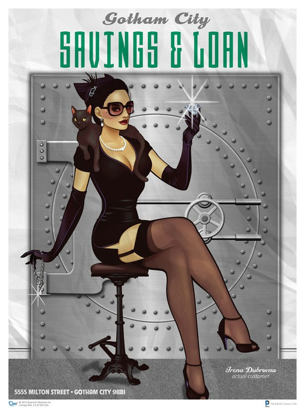Chicas DC Pin-Up: Catwoman