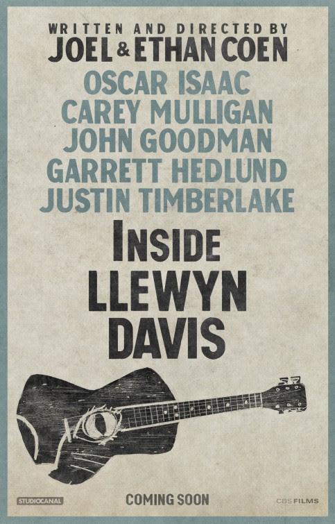 Resultado de imagem para inside llewyn davis poster