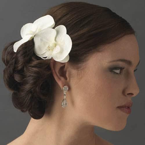 wedding hair flower accessories