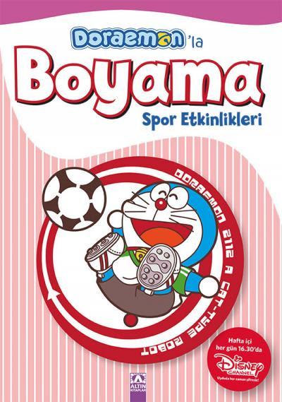 Doraemonla Boyama Spor Etkinlikleri Kolektif Altın Kitaplar