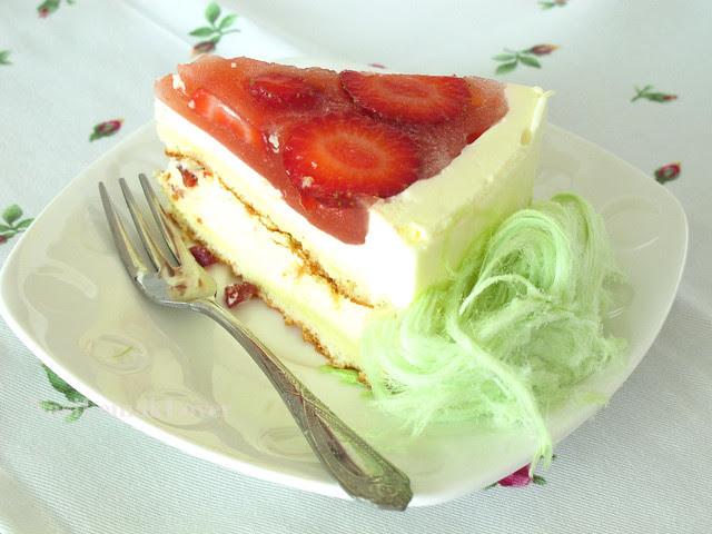 Strawberry Mousse Cake
