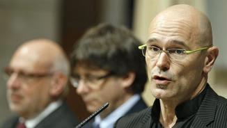 El conseller d'Exteriors de la Generalitat, Raül Romeva (EFE)