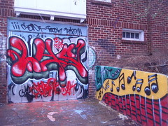 loading dock graffiti