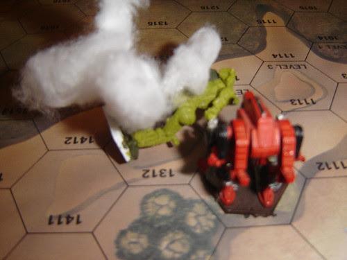 Viper extracts revenge on Hatchetman