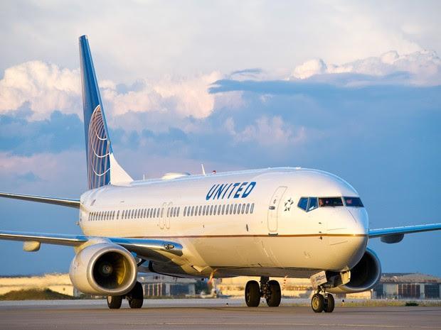 Boeing 737 da United Airlines (Foto: Divulgação/United Airlines)