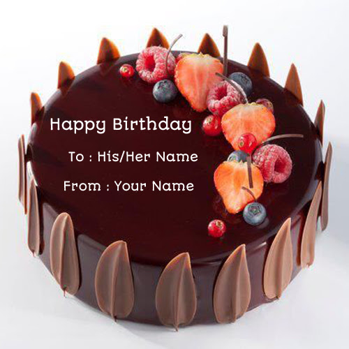Fantastic Chocolate Birthday Cake With Name Top Birthday Cake Pictures Funny Birthday Cards Online Drosicarndamsfinfo