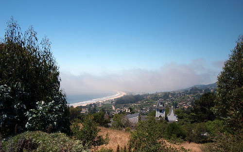 Stinson from quarter way up Panoramic HWY