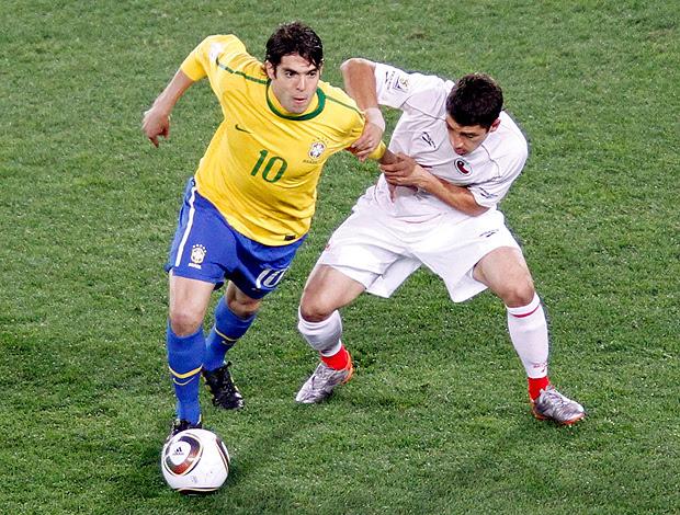 Kaka Brasil x Chile (Foto: Reuters)