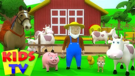 kids tv nursery rhymes  macdonald   farm