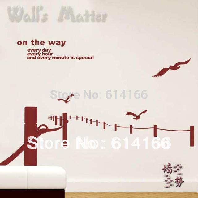 Shop Popular Birds Wall Paper from China | Aliexpress