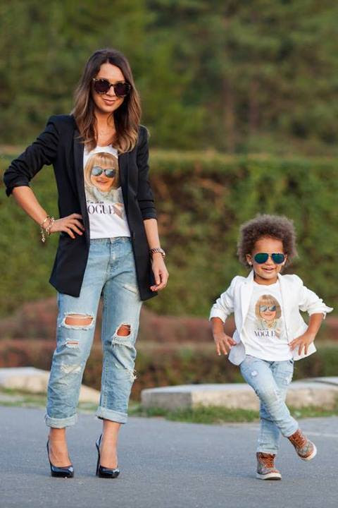 19 Adorable Mothers And Daughters Matching Outfit Ideas Style