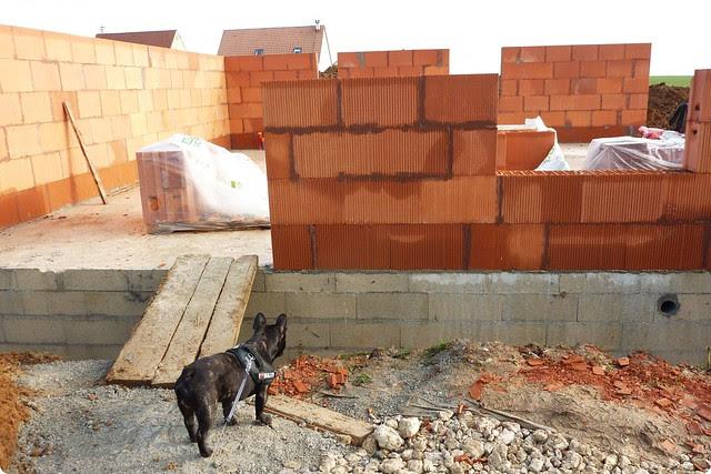 Chantier de construction de notre maison individuelle