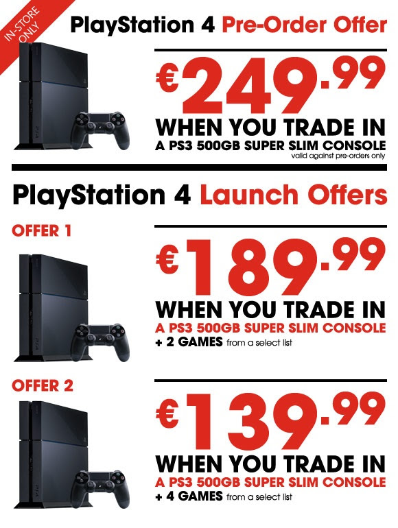 how much does gamestop pay for ps3