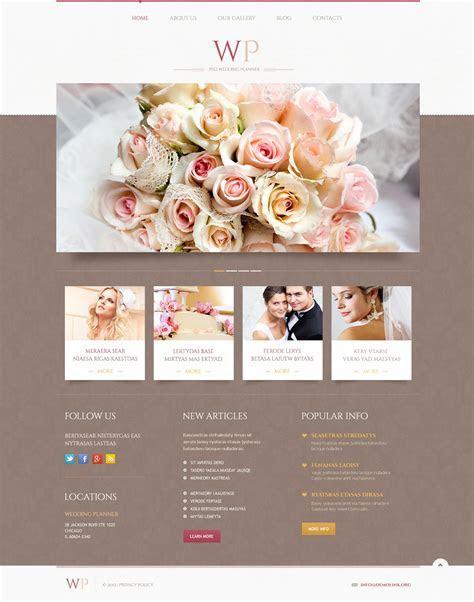 Tender Wedding Planner WordPress Theme #45883