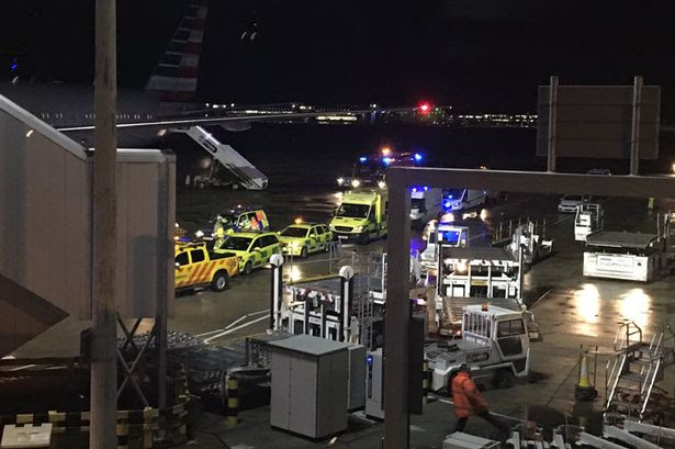 Emergency services on the runway