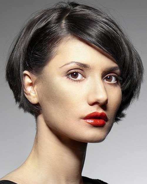 15 Short  Layered  Haircuts  for Round  Faces  Short