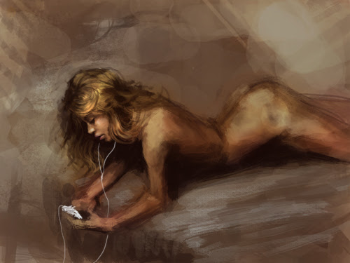 painting nude female figure tutorial