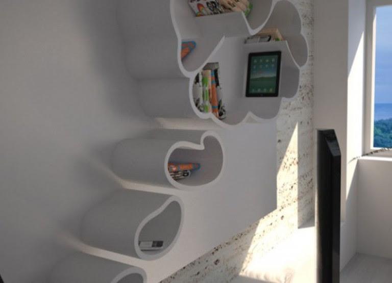 Modern And Funny Dreams Bookshelf | DigsDigs