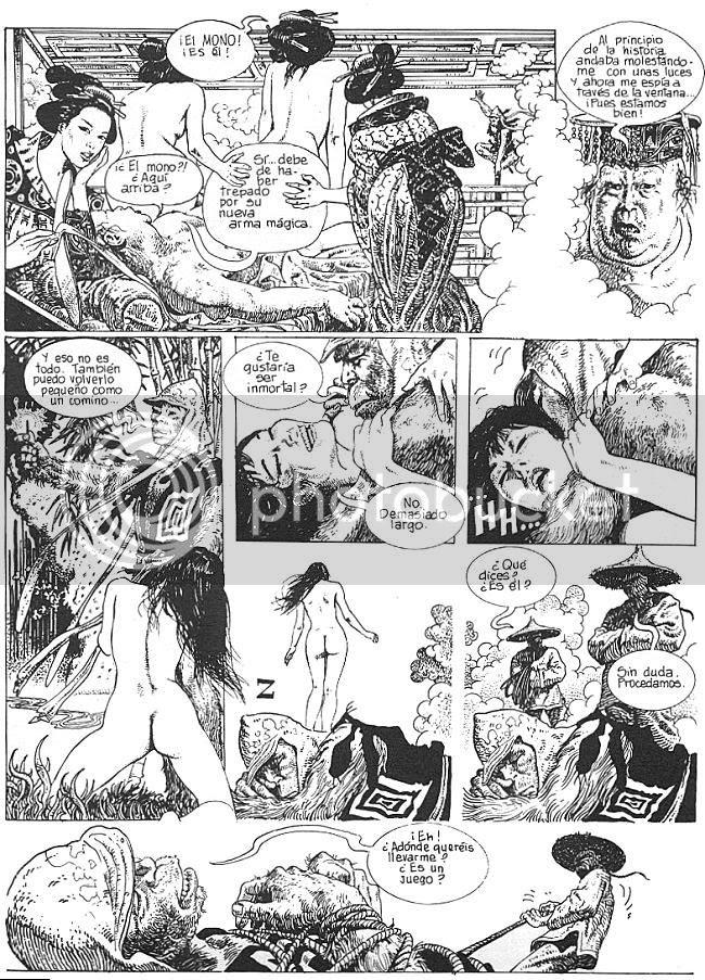 Manara, Milo -El rey mono-