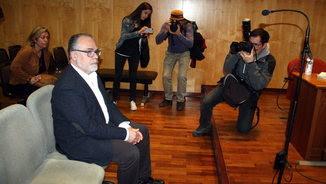 L'expresident de la Diputació de Girona Jaume Torramadé durant el judici (ACN)