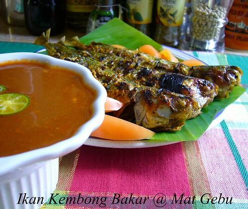 Ikan Kembong Bakar
