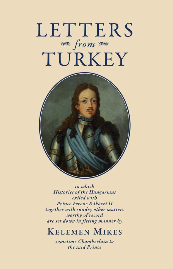 Mikes Kelemen: Törökországi levelek (angol)