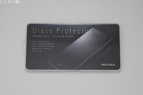 パッケージ iPod touch 5世代用強化ガラスフィルム ラウンド(角丸)タイプ 硬度9H 日本語説明書付き Glass Film【クロスフォレスト「CF-GHIPT5」】