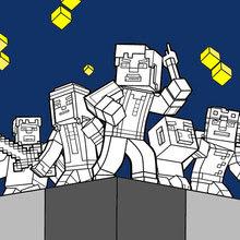 Dibujos De Minecraft Para Colorear Dibujos Para Colorear Imprime