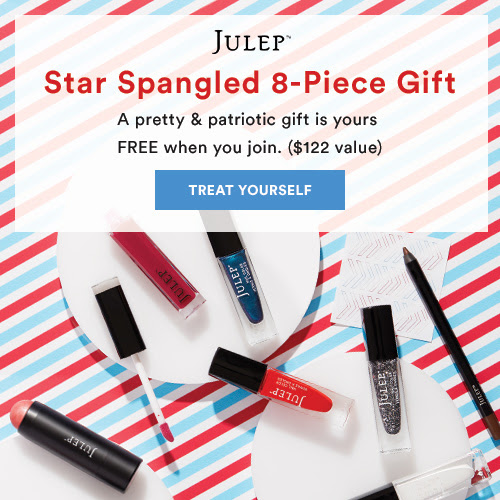 8-Piece Star-Spangled Beauty Gift - FREE when you join Julep
