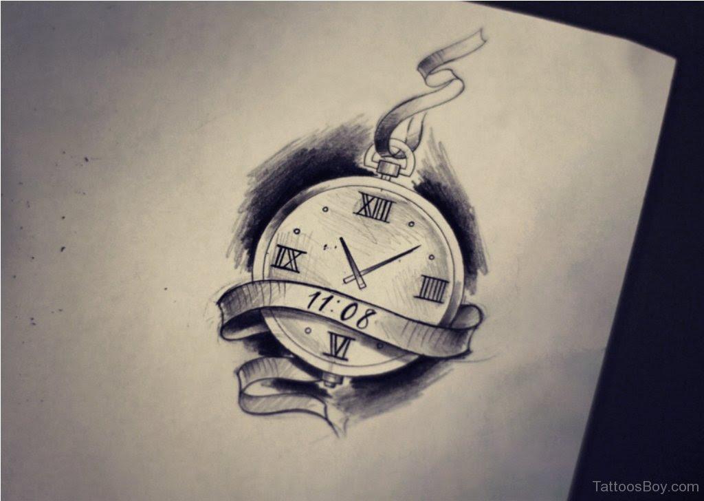 Simple Clock Tattoo Best Ideas