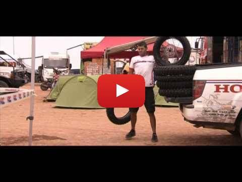 Team HRC Dakar Rally Rest Day