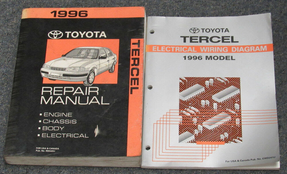 Diagram 1996 Toyota Tercel Service Shop Repair Set Oem Service And The Electrical Wiring Diagrams Full Version Hd Quality Wiring Diagrams Livediagrams18 Eaglesport It
