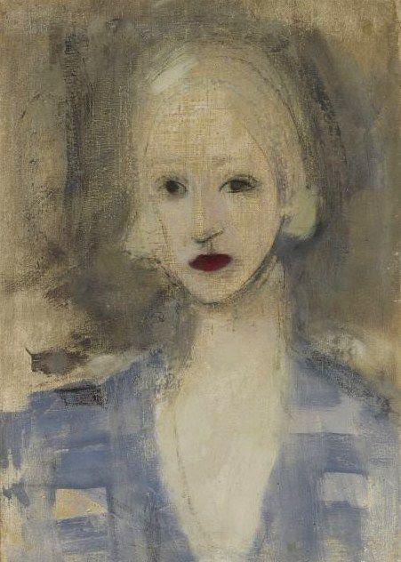 Helene Schjerfbeck, 1925, Blond Woman