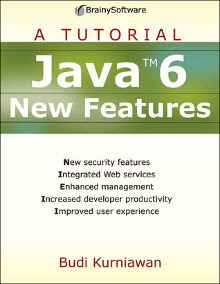 Java 6 New Features cover