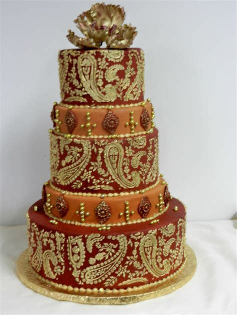 25  Best Ideas about Paisley Wedding Cakes on Pinterest