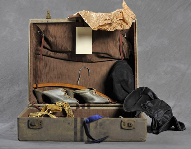 Anna's suitcase.