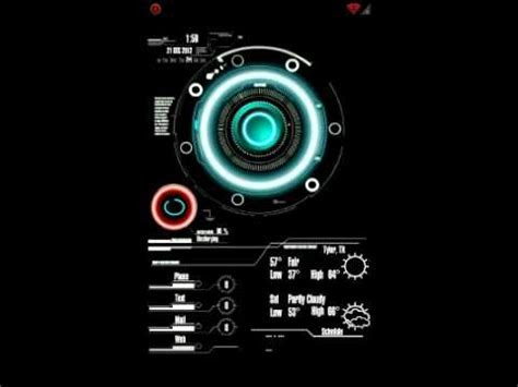 JARVIS Live Wallpaper   YouTube