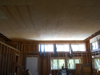 West End of Great Room with Main Paneling Done