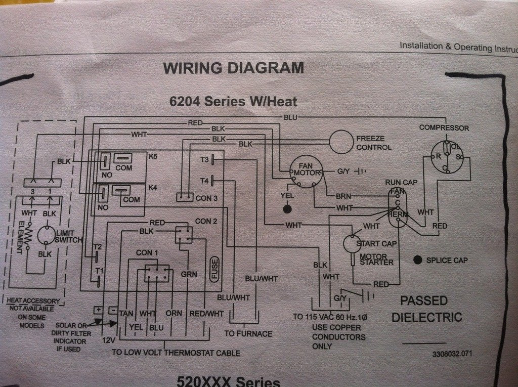 35 Dometic Capacitive Touch Thermostat Wiring Diagram